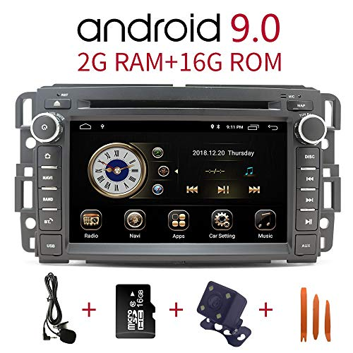 Car Stereo Radio in Dash Navigation for GMC Sierra Yukon Chevrolet Buick...