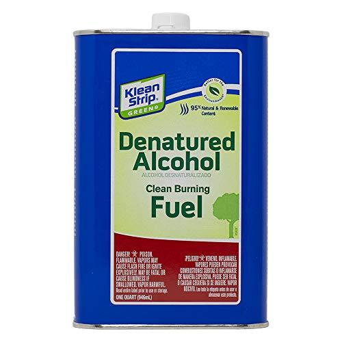 Klean-Strip Green QKGA75003 Denatured Alcohol - 1 qt.