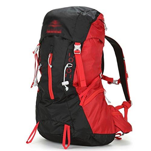 sac à dos randonnée sac Alpinisme sac homme sac extérieur épaule sac à dos femmes Sacs à dos de randonnée ( Couleur : Rouge , taille : 30L )