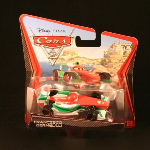 Disney / Pixar Cars 2 Movie 155 Die Cast Checkout Lane Package Francesco Bernoulli