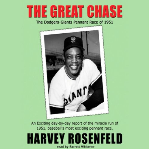 The Great Chase audiobook cover art