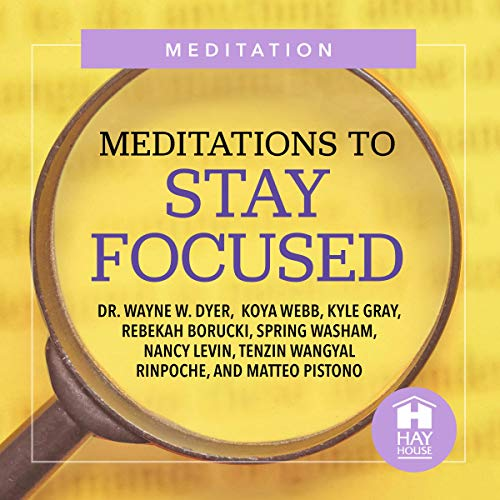 Meditations to Stay Focused cover art