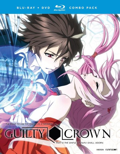 Guilty Crown: The Complete Series Blu-ray