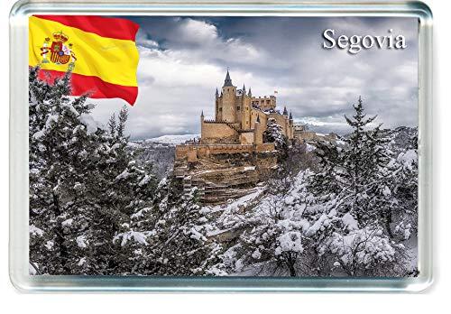 H314 Segovia Imán para Nevera Spain Travel Fridge Magnet