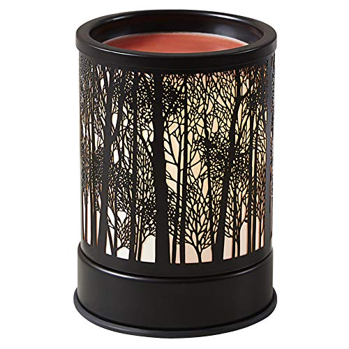 Wax Warmer for Scented Wax Candle Melter - Electric Wax Melt Heater Fragrance Essential Oil Burner for Spa Yoga Gym Office Home Decor (Tree)