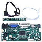 Placa de Controlador Lcd Panel de Módulo de Controlador, Hdmi Vga Dvi Audio Placa de Controlador Lcd Compatible Con 15.6In Lp156Wh2 Tl B156Xw02 1366X768 Lcd
