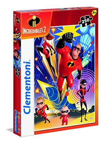SuperColor–The Incredibles 2–250piezas Puzzle, 29056, Multicolour , color/modelo surtido