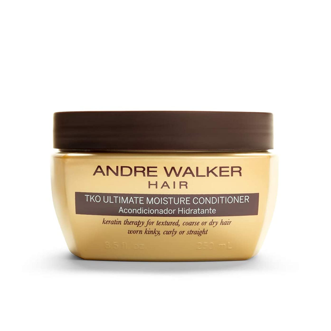 スクリーチ常識ほかにAndre Walker Hair The Gold System TKO Ultimate Moisture Conditioner 8.5 fl oz. by Andre Walker Hair