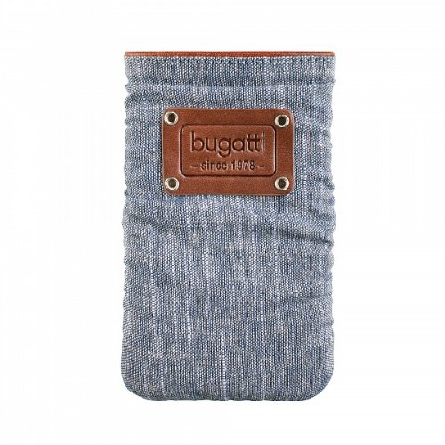 Bugatti 08111 Handy Universaltasche Elements Patch, Denim,Size XL