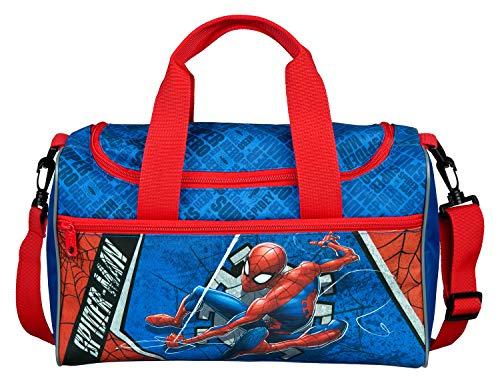 Sporttasche mit Hauptfach und Vortasche, Marvels Spider-Man, ca. 16 x 35 x 23 cm