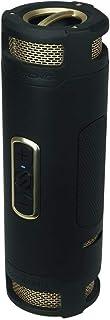 Scosche BoomBottle+ Rugged Waterproof Wireless Portable Speaker Black/Gold