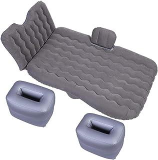 Cama de viaje viajes Bed 135 * 90cm recorrido de coche inflable colchón de aire amortiguador cama que acampa portable universal for SUV Extender las almohadillas de aire Aire Sofá Con Dos 5-14 Bomba d