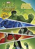 Hulk. Colorea siguiendo el modelo (Marvel. Superhéroes)
