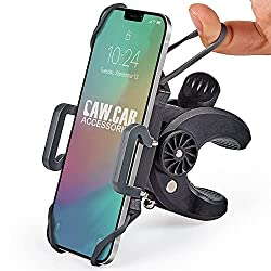 small Bicycle and Motorcycle Phone Holders – For iPhone 11 (Xs, Xr, X, 8, Plus / Max), Samsung Galaxy S20, etc …
