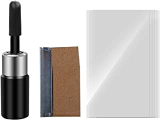 DLLMA Automotive Glass Nano Total Repair Fluid Tool, 2pcs Glass Crack Windscreen Repair