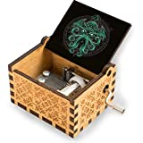 Great Cthulhu V1 Manivela musical Caja de música de madera para niños y niñas