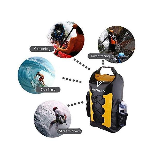 51gE1+8HaeL. SS600  - Mochila impermeable de 30L Ideal para navegación Kayak Canoa Vela Deportes acuáticos Snowboard esquí Senderismo Trekking…