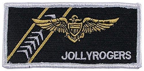 MFH Stickabzeichen VF-103 Jolly Rogers Aufnäher Truppenabzeichen Stoffabzeichen Verschiedene Motive (Motiv 1)