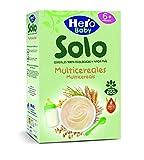 HERO Baby Solo papilla multicereales 100% ecológica caja 300 gr