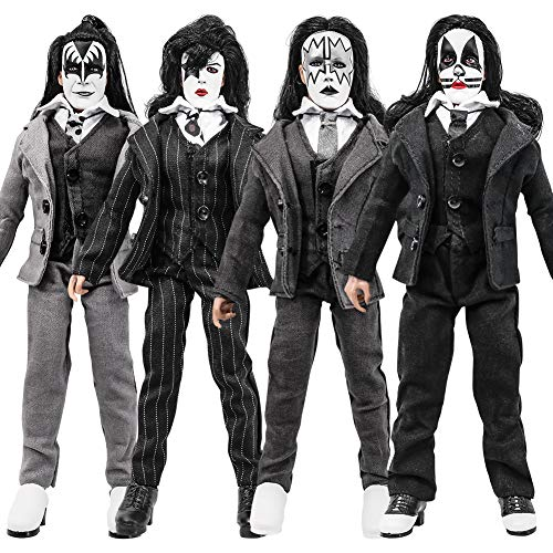 KISS 8 Inch Action Figures Dressed to Kill Series: Set of Four LOOSE Figures