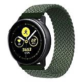 RIOROO Compatibile per Samsung Galaxy Watch 3 Cinturino, Cinturini in Elastico Tessuto per Donne Uomini Compatibile per Huawei Watch GT2/Compatible for Garmin Vivoactive 3 Polsino(Senza Orologio)