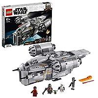 LEGO 75292 Star Wars Der Mandalorianer, Razor Crest, mit Baby Yoda und weiteren Minifiguren aus Der Mandalorianer, Bauset