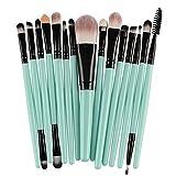 GONGFF Cepillo 15 Piezas Set de Pinceles de Maquillaje Herramientas de Maquillaje Kit de artículos de tocador Set de Pinceles de Maquillaje al por Mayor