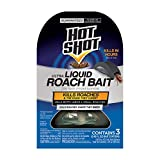Hot Shot HG-96591 Ultra Liquid Roach Bait, 3-Count