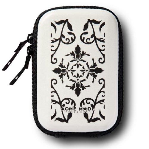 Acme Made Sleek Hülle Kameratasche weiß glänzend/antik