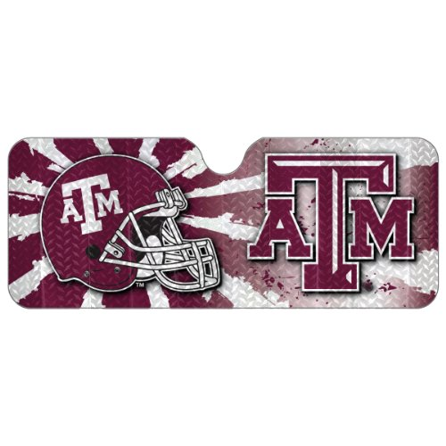NCAA Texas A&M Aggies Auto Sun Shade