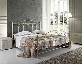 Amazon.it: letto ferro battuto matrimoniale: Casa e cucina