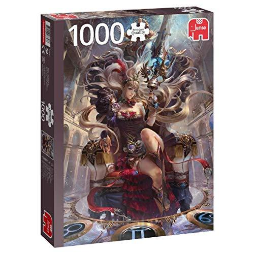 Jumbo 18857 Tierkreis-Königin 1000 Teile Puzzle