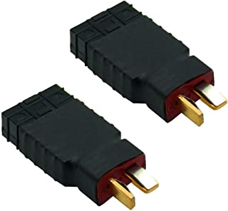 Youme Male Deans to Female TRX Traxxas Connector Wireless Adapter RC Charger Slash E Revo (2pcs/lot)