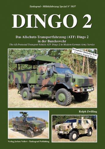 Tankograd 5037 DINGO 2 - Das Allschutz-Transportfahrzeug in der Bw