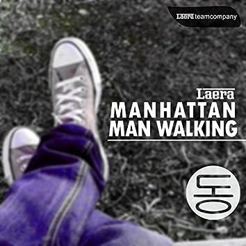 Manhattan Man Walking