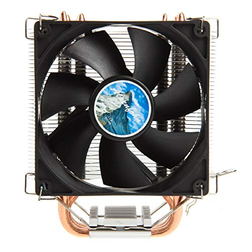 Alpenföhn - Sella 92mm mit 1 PWM Lüftern 130W TDP, CPU Kühler aben einen Maximalen 2200RPM Lüfter Kompatiblen Kühler Innenraum PC Gehäuse