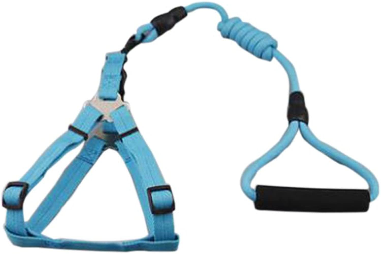 Pet Leash Rope Dog Chain Teddy cat Small Medium Dog Leash Dog Strap pet Supplies Collar (Size   L)