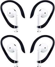 2 Pairs AirPods EarHooks Compatible with AirPods 1 AirPods 2 and AirPods Pro,TEEMADE Sports Headset EarHooks Great for Running,Jogging,Cycling,Gym and Other Fitness Activities(Black)