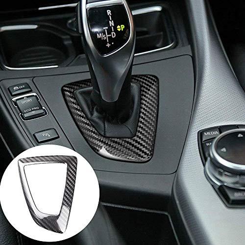 Bluecow Carbon Fiber Gear Shift Knobs Panel Cover Trim Sticker for BMW F20 F21 F22 F23 F30 F32 F33 F34 F35 F36 Accessories