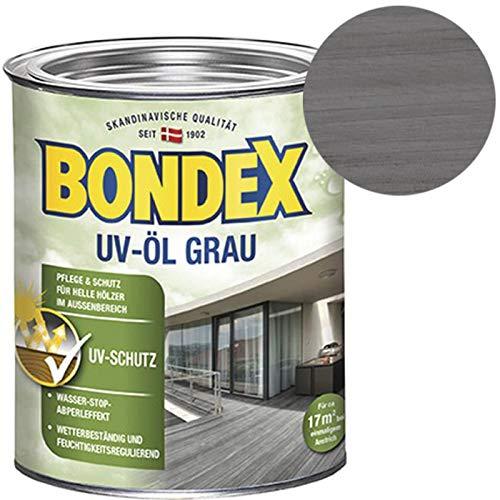 Bondex Öl–Holz uv-aceite 0,75Liter Grau