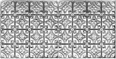 "10 (2' x 4') Sheets of Tin Ceilings #0609 80 sq.ft. 6"" Decorative Victorian Design"