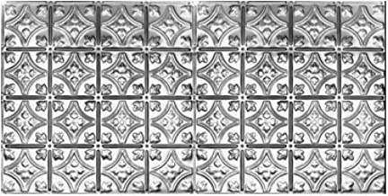 10 (2' x 4') Sheets of Tin Ceilings #0609 80 sq.ft. 6
