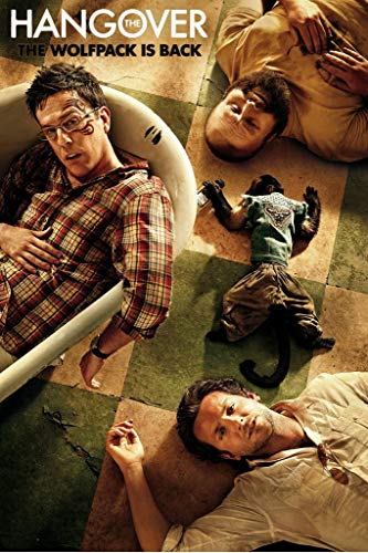 Yutirerly The Hangover - Part 2, Movie Poster 24in x 36in