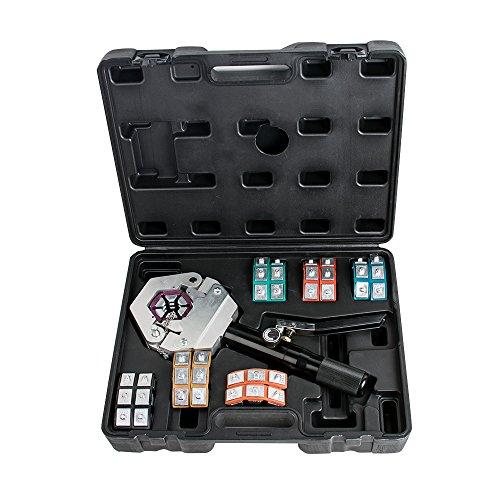 Tinsay Hydraulic Hose Crimper Crimping Tool Kit Conditioner...