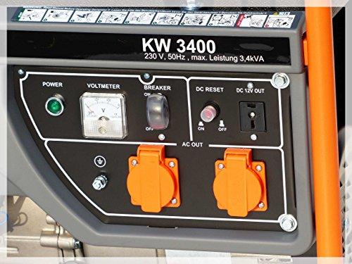 KnappWulf Stromerzeuger KW3400 1-phase 230V - 4