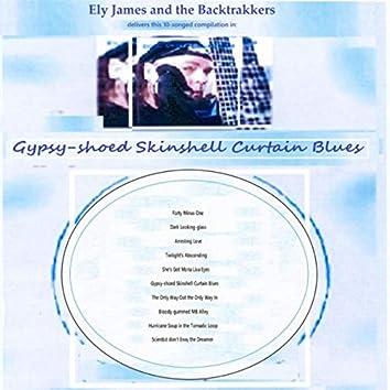 Gypsy-Shoed Skinshell Curtain Blues