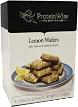 ProteinWise Healthy Diet Low Carb Low Calorie High Protein Wafer Bars (Lemon)