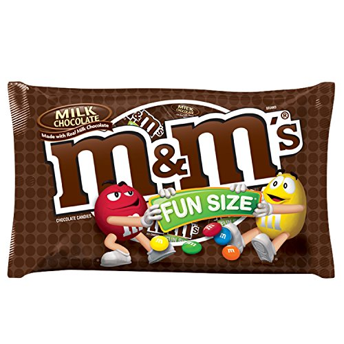 M&M's Halloween Fun Size Milk Chocolate Candy Bag - 10.53oz