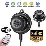 Bluelliant Camera Surveillance WiFi, 1080P Caméra WiFi sans Fil, Camera IP WiFi, Vision Nocturne, Détection de Mouvement, Pan/Tilt/Zoom pour Bébé/Aîné/Animal