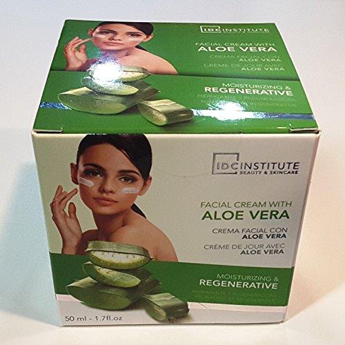 IDC Institute - Face Cream With Aloe Vera Moisturizing & Regeneration 50 Ml